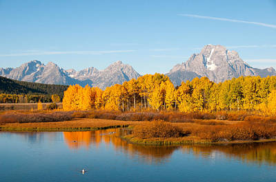 Photograph - Autumn At Oxbow Bend by Steve Stuller