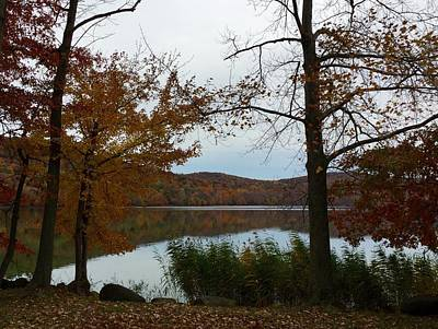 Photograph - Autumn At Rockland Lake Ny by Richard Bryce and Family