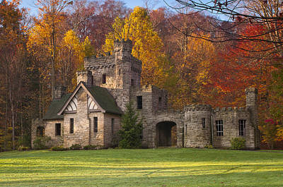 Photograph - Autumn At Squire's Castle 1 by At Lands End Photography