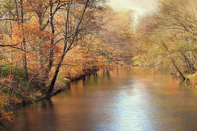 Photograph - Autumn At Swatara Creek by Lori Deiter