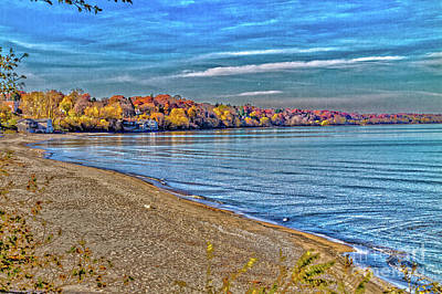 Photograph - Autumn At The Beach by William Norton