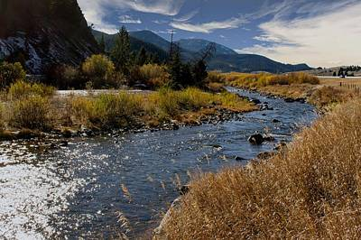 Photograph - Autumn At The Boulder River by Dana Moyer