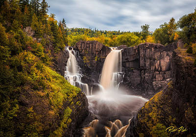 Photograph - Autumn At The High Falls by Rikk Flohr