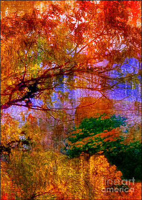 Photograph - Autumn At The Lake by Judi Bagwell