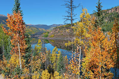 Photograph - Autumn At The Rio Grande Reservoir by Cascade Colors