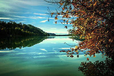 Photograph - Autumn At The River by Holger Debek
