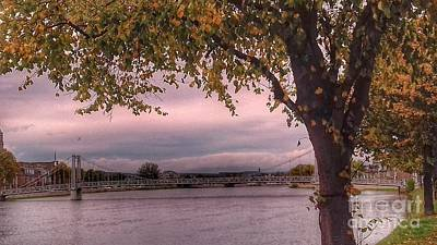 Photograph - Autumn At The River Ness 3 by Joan-Violet Stretch