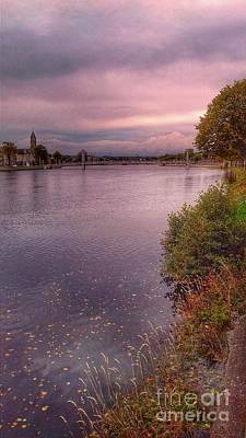 Photograph - Autumn At The River Ness by Joan-Violet Stretch