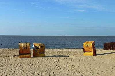 Photograph - Autumn At The Seaside by Christiane Schulze Art And Photography