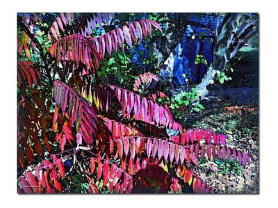 Art Print featuring the photograph Autumn At The Taverne by Joan  Minchak