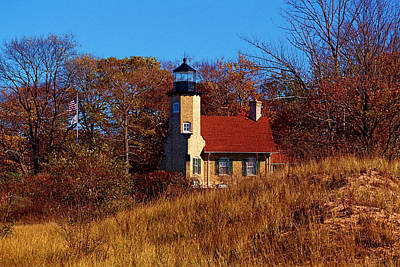 Photograph - Autumn At White River Light by Susan Rissi Tregoning