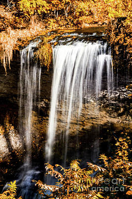 Photograph - Autumn At Wolcott Falls by William Norton