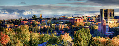 Autumn Landscape Photograph - Autumn At Wsu by David Patterson