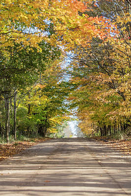 Photograph - Autumn Backroad  by John McGraw