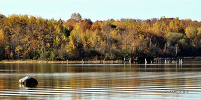 Riverstone Gallery Photograph - Autumn Bay by Gregory Steele