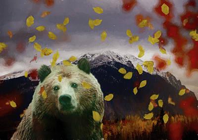 Photograph - Autumn Bear by Ericamaxine Price