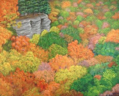 Autumn Beauty Art Print by Hollie Leffel