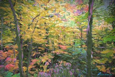 Digital Art - Autumn Beauty by John Selmer Sr
