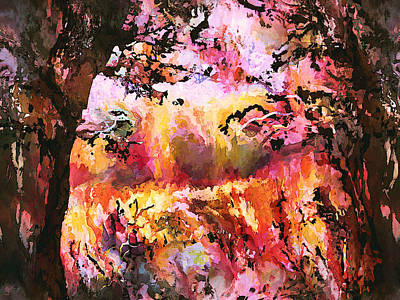 Autumn Landscape Mixed Media - Autumn Beauty by Natalie Holland