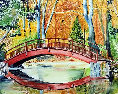 Painting - Autumn Beauty by Tom Riggs