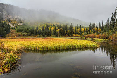 Autumn Begins At Silver Lake Art Print