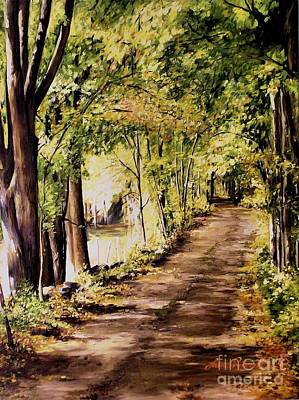 Painting - Autumn Begins In Underhill by Laurie Rohner