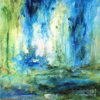 Painting - Spring Rain  by Laurie Rohner