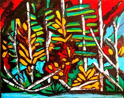 Painting - Autumn Blaze by Nikki Dalton