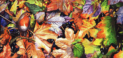 Painting - Autumn Blaze by Peter Williams