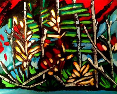 Painting - Autumn Blaze1 by Nikki Dalton