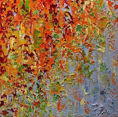 Painting - Autumn Bliss by Felicia Weinstein