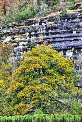 Photograph - Autumn Bluffs by JC Findley
