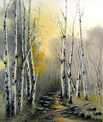 Painting - Autumn by Boris Garibyan
