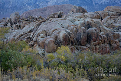 Photograph - Autumn Boulders by Idaho Scenic Images Linda Lantzy