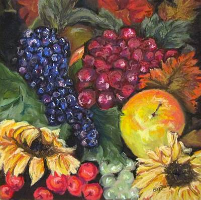 Pastel - Autumn Bounty by Barbara O'Toole