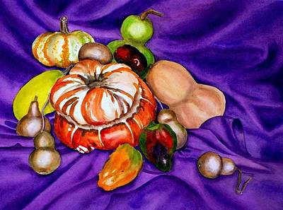 Painting - Autumn Bounty by Deane Locke