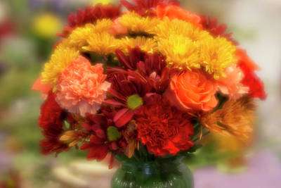 Photograph - Autumn Bouquet by Jade Moon