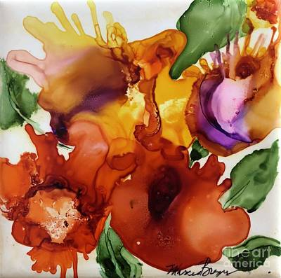 Painting - Autumn Bouquet by Marcia Breznay