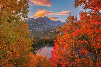 Rocky Mountain National Park Photograph - Autumn's Breath by Darren White