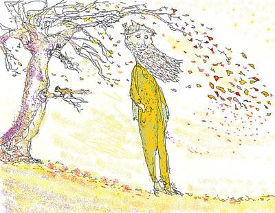 Digital Art - Autumn Breeze by Jim Taylor