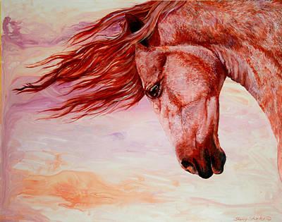 Autumn Breeze Art Print by Sherry Shipley