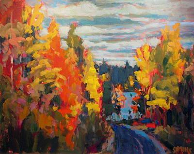 Autumn Art Print by Brian Simons