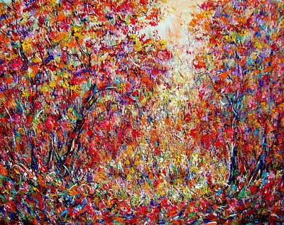 Painting - Autumn Brilliance by Natalie Holland