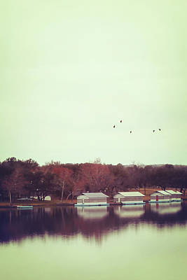 Photograph - Autumn By The Lake by Trish Mistric
