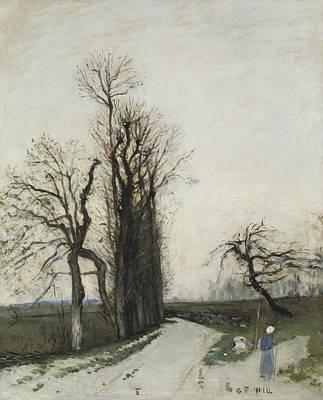 Painting - Autumn by Carl Fredrik Hill