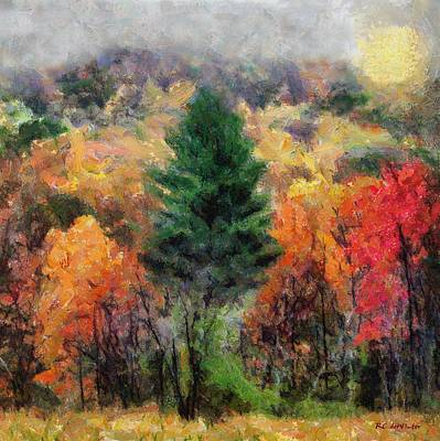 Painting - Autumn Carnival by RC DeWinter