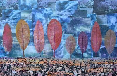 Mixed Media - Autumn by Caroline Peacock