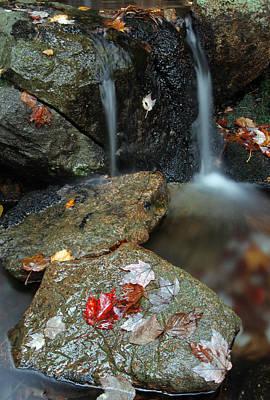 Photograph - Autumn Cascades by Juergen Roth
