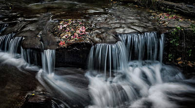 Photograph - Autumn Cascades  by Saija Lehtonen