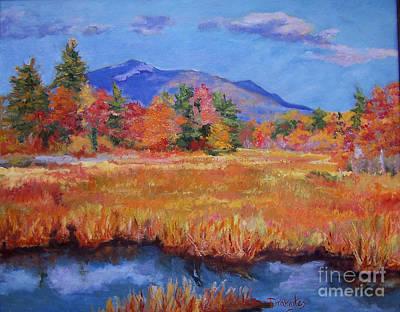 Mt. Monadnock Painting - Autumn Celebration by Alicia Drakiotes